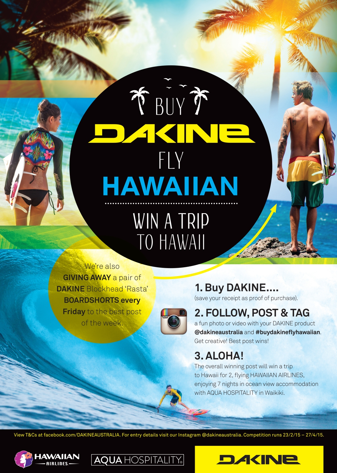 DAKINE + HAWAIIN AIRLINES