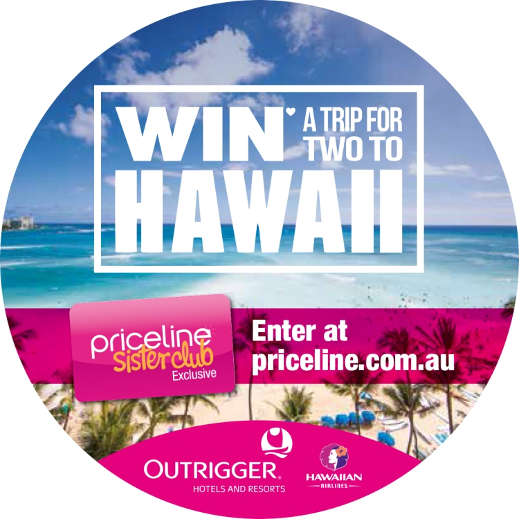 PRICELINE + OUTRIGGER RESORTS + HAWAIIN AIRLINES