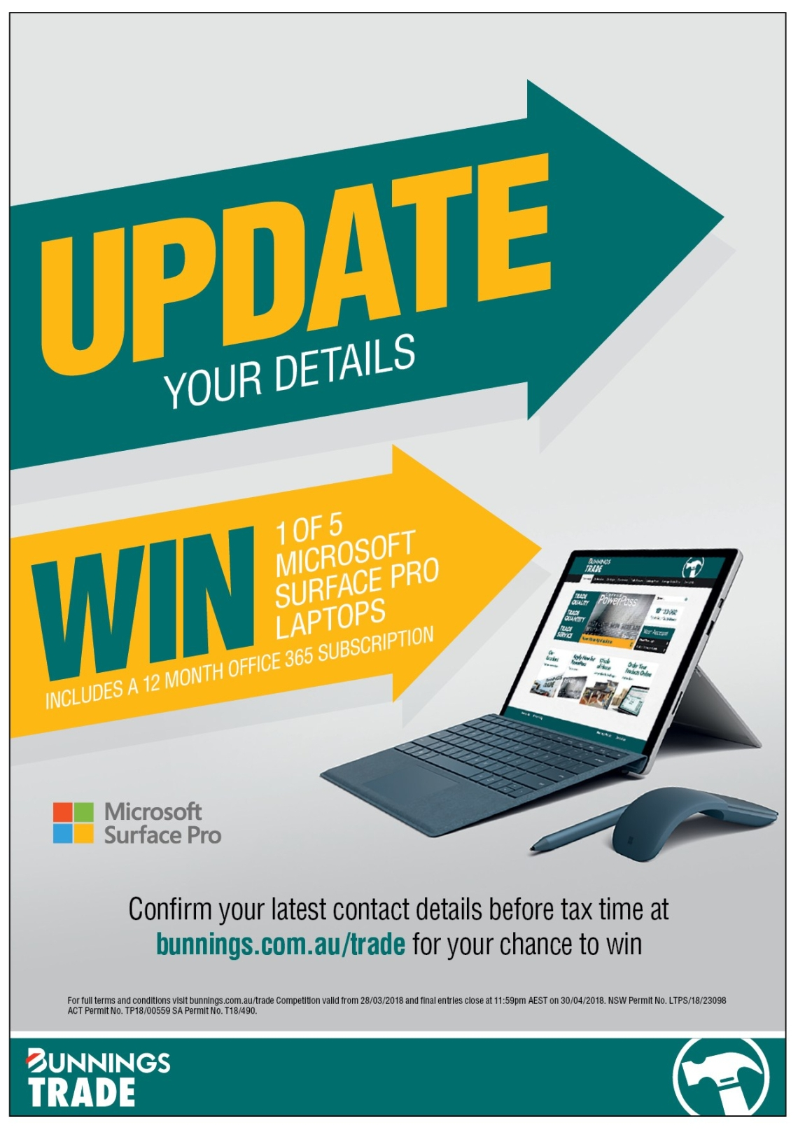 BUNNINGS Microsoft 3